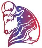 Segno dello zodiaco del Aries illustrazione vettoriale