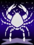 Segno dello zodiaco del Cancer Fotografie Stock