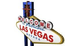 segno di 3d Las Vegas, Nevada Immagini Stock