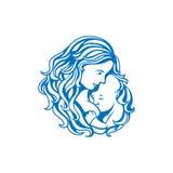 Segno di allattamento al seno royalty illustrazione gratis