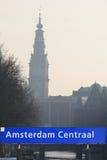 Segno di Amsterdam Immagini Stock Libere da Diritti