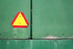 Segno di avvertenza immagini stock libere da diritti