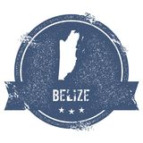 Segno di Belize Fotografia Stock Libera da Diritti