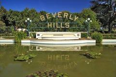 Segno di Beverly Hills Immagine Stock Libera da Diritti