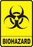 Segno di Biohazard Immagine Stock Libera da Diritti