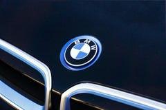 Segno di BMW Fotografie Stock Libere da Diritti