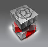 Segno di comunicazione Fotografia Stock