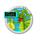 Segno di Dragon Libra Zodiac Fotografia Stock