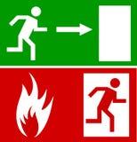 Segno di emergenza illustrazione vettoriale