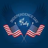 Segno di festa dell'indipendenza Immagine Stock Libera da Diritti