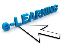 Segno di formazione on-line Immagini Stock Libere da Diritti