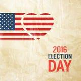 Segno di giorno delle elezioni Immagine Stock