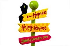 Segno di Halloween Immagine Stock Libera da Diritti