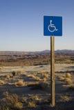 Segno di handicap immagini stock libere da diritti