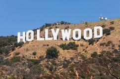 Segno di Hollywood Immagini Stock