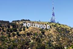 Segno di Hollywood fotografie stock libere da diritti