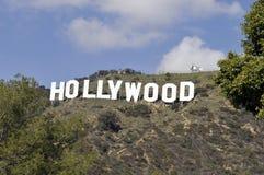 Segno di Hollywood Fotografie Stock