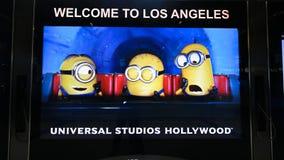 Segno di Hollywood degli studi universali immagine stock libera da diritti