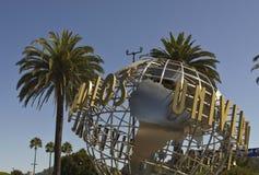 Segno di Hollywood degli studi universali Immagini Stock Libere da Diritti