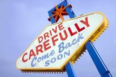 Segno di Las Vegas Fotografie Stock Libere da Diritti