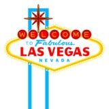 Segno di Las Vegas Fotografie Stock