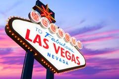 Segno di Las Vegas immagine stock