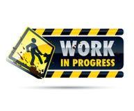 Segno di lavoro in corso