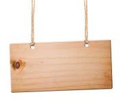 Segno di legno. Fotografie Stock