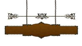 Segno di legno illustrazione vettoriale