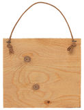 Segno di legno Fotografie Stock Libere da Diritti