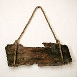Segno di legno dell'annata fotografie stock libere da diritti