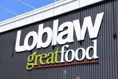 Segno di Loblaw Fotografia Stock