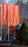 Segno di McDonalds Immagini Stock