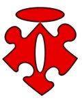 Segno di mt della holding di puzzle Fotografia Stock Libera da Diritti