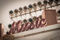 Segno di musica Immagini Stock