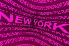 Segno di New York Immagine Stock Libera da Diritti
