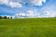 Segno di pace su Woodstock Hillside Fotografia Stock