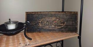 Segno di Peterbuilt fotografia stock libera da diritti