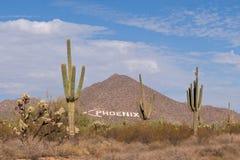 Segno di Phoenix Fotografie Stock