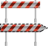 Segno di protezione della strada Immagini Stock