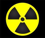 Segno di radiazione Immagini Stock Libere da Diritti
