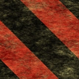 Segno di rischio d'avvertimento di Red&Black [05] Fotografia Stock Libera da Diritti