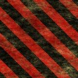Segno di rischio d'avvertimento di Red&Black Immagine Stock Libera da Diritti