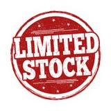 Segno di riserva limitato o bollo illustrazione di stock