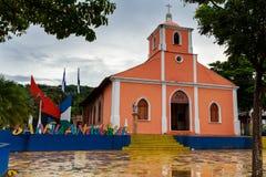 Segno di San Juan del Sur, Nicaragua Immagini Stock