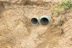 Segno di scarsità globale di acqua sul pianeta Immagine Stock Libera da Diritti