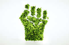 Segno di sommossa di Eco Fotografia Stock