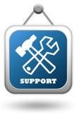 Segno di sostegno Fotografie Stock