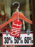 Segno di vendita Fotografie Stock Libere da Diritti
