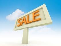 Segno di vendita Immagine Stock Libera da Diritti